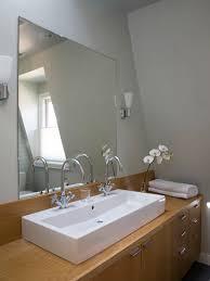 bathroom frameless mirrors frameless bathroom mirror large playmaxlgc com