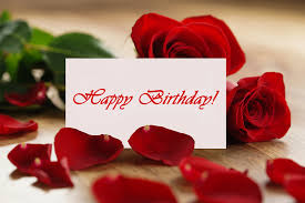 happy birthday greeting card with roses gallery yopriceville