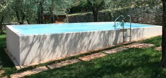 rivestimento in legno per piscine fuori terra piscine fuoriterra isolaverdepiscine srl verona