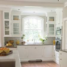 houzz glass kitchen cabinet doors 75 beautiful kitchen with glass front cabinets pictures