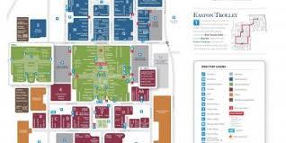 easton map easton town center map easton mall columbus ohio map ohio usa