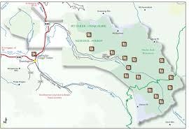 map of the road mt baker snoqualmie national forest suiattle river road