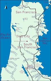 San Francisco Walking Map by San Francisco Peninsula Map Michigan Map