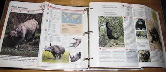 wildlife treasury cards wildlife fact file binder animal identification and conservation