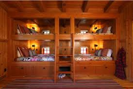 Making Wooden Bunk Beds by 22 Bunk Beds For Four A Space Saving Solution For Shared Bedrooms