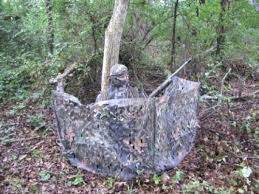 Ghost Hunting Blinds Diy Burlap Hunting Blind Burlap Hunting Blinds Ground Blind For