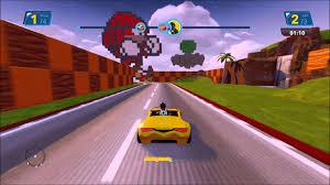 sonic green hill zone race disney infinity toy box 3 0 youtube