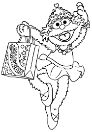 sesame street halloween coloring pages coloring pages kids