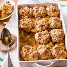 bourbon peach cobbler recipe eatingwell