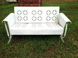crosley bates sofa glider veranda metal patio sofa glider ezhandui com