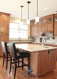 what color backsplash with honey oak cabinets tips and ideas how to update oak or wood cabinets paint
