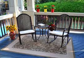 Rocking The Chair The Garden Rocking Chair 3 Piece Set Tortuga Outdoor