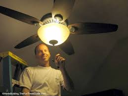 Hunter Stratford Ceiling Fan by How To Choose And Install A Ceiling Fan The Homebuilding Remodel