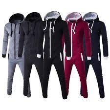 mens one jumpsuit mens plain onesie ebay