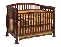 Side Rails For Convertible Crib Davinci Thompson 4 In 1 Convertible Crib In Coffee W Toddler