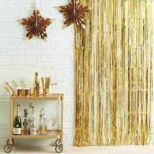 gold foil curtain gold foil shimmer backdrop new years