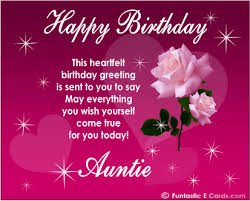 to my special aunt happy birthday wishes card happy birthday
