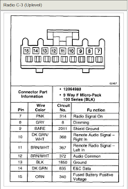2005 chevy silverado stereo wiring harness diagram periodic