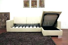 Sleeper Sofa With Storage Chaise Sectional Sofa With Storage Dsellman Site