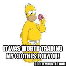 Homer Meme - homer meme odd item hunter