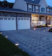 kerr lighting 12 vt camelot paver light 6 x 9 for walk patio