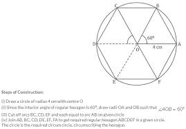 Interior Angles In A Circle Selina Icse Solutions For Class 10 Maths U2013 Constructions Circles