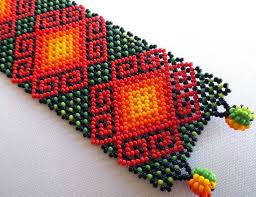 51 best huichol images on pinterest beads beadwork and seed beads