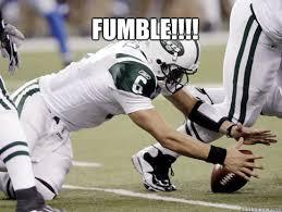 Fumble Meme - fumble sanchez sucks quickmeme