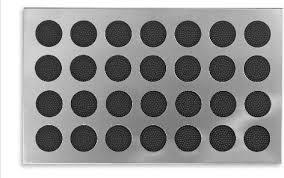 Long Doormats Stainless Doormat With Rubber Circles Contemporary Doormats