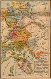 Europe 1815 Map by Whkmla Historical Atlas Naples Page