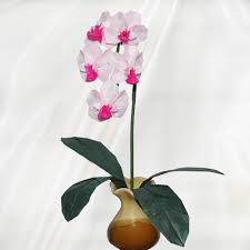 buy an orchid buy origami orchid origami flower arrangements