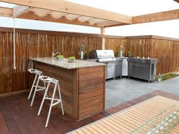 building outdoor kitchen cabinets mixing kitchen cabinet styles and finishes hgtv throughout outdoor