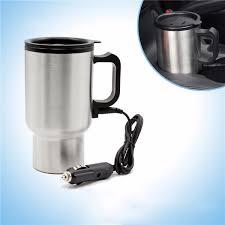 heated coffee mug tirol car travel heated cup insulation heated cup thermal