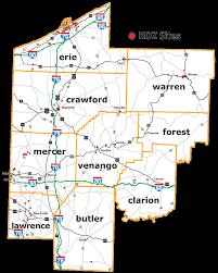 Keystone Map Northwest Commission Keystone Opportunity Zones Koz