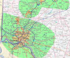Zip Code Map Cincinnati by Enter Prefix