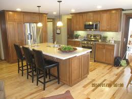kitchen alluring brown wood kitchen islands designs added white