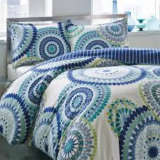 Teal Blue And Lime Green Bedspreads City Scene Radius Comforter Set Walmart Com