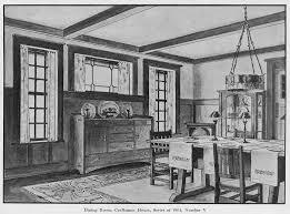 laurelhurst 1912 craftsman dining room from craftsman magazine