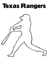 texas rangers logo in mlb coloring page color luna