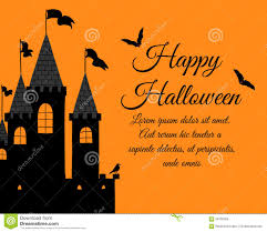 halloween party invitation background halloween greeting card stock vector image 59700263
