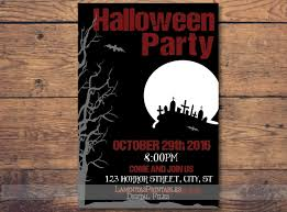Halloween Invitation Halloween Invites Halloween Party