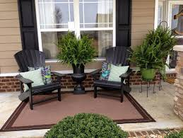 Patio 4 Patio Decorating Ideas by Best 25 Front Porch Landscape Ideas On Pinterest House Yard