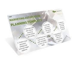 marketing automation planning template communigator ltd