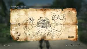Nassau Map Assassin S Creed 4 Treasure Map 633 784 Nassau Youtube