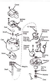 repair guides electronic ignition tearing chevy hei distributor