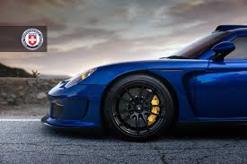 gemballa mirage gemballa mirage gt with hre p104 wheels in satin black