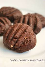 new year chocolate and chocolate almond cookies new