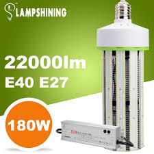 180w led corn bulb equivalent 750 watt metal halide lamp