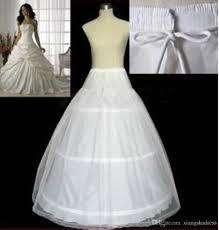 hoop wedding dress plus size bridal accessories white 3 hoop a line petticoat