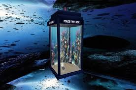 second marketplace tardis fishtank light color changer boxed